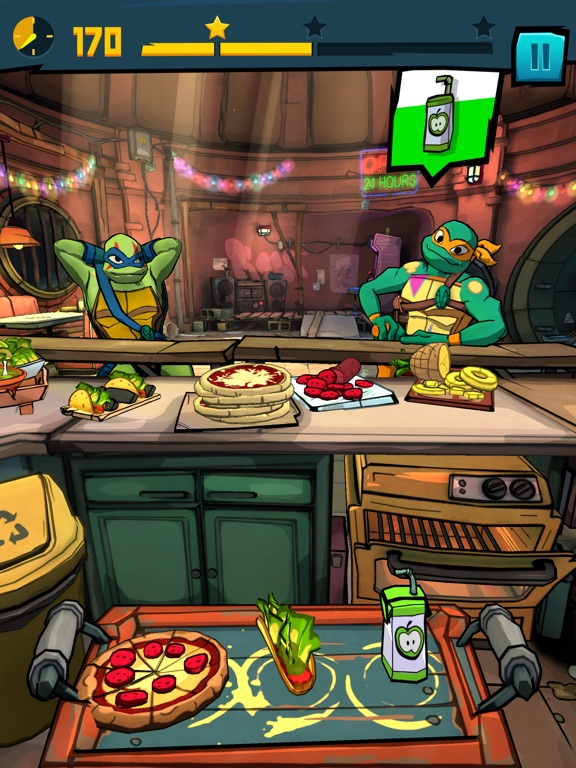 Rise of the TMNT: Power Up! screenshot 8