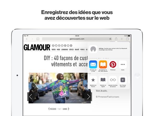 Pinterest: Idées & Inspiration Capture d'écran