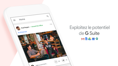 Screenshot for Google+ pour G Suite in Lebanon App Store