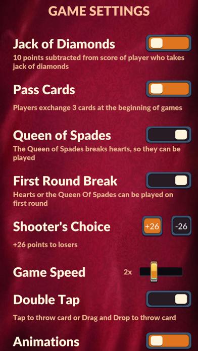 Hearts - Offline Card Games screenshot 3