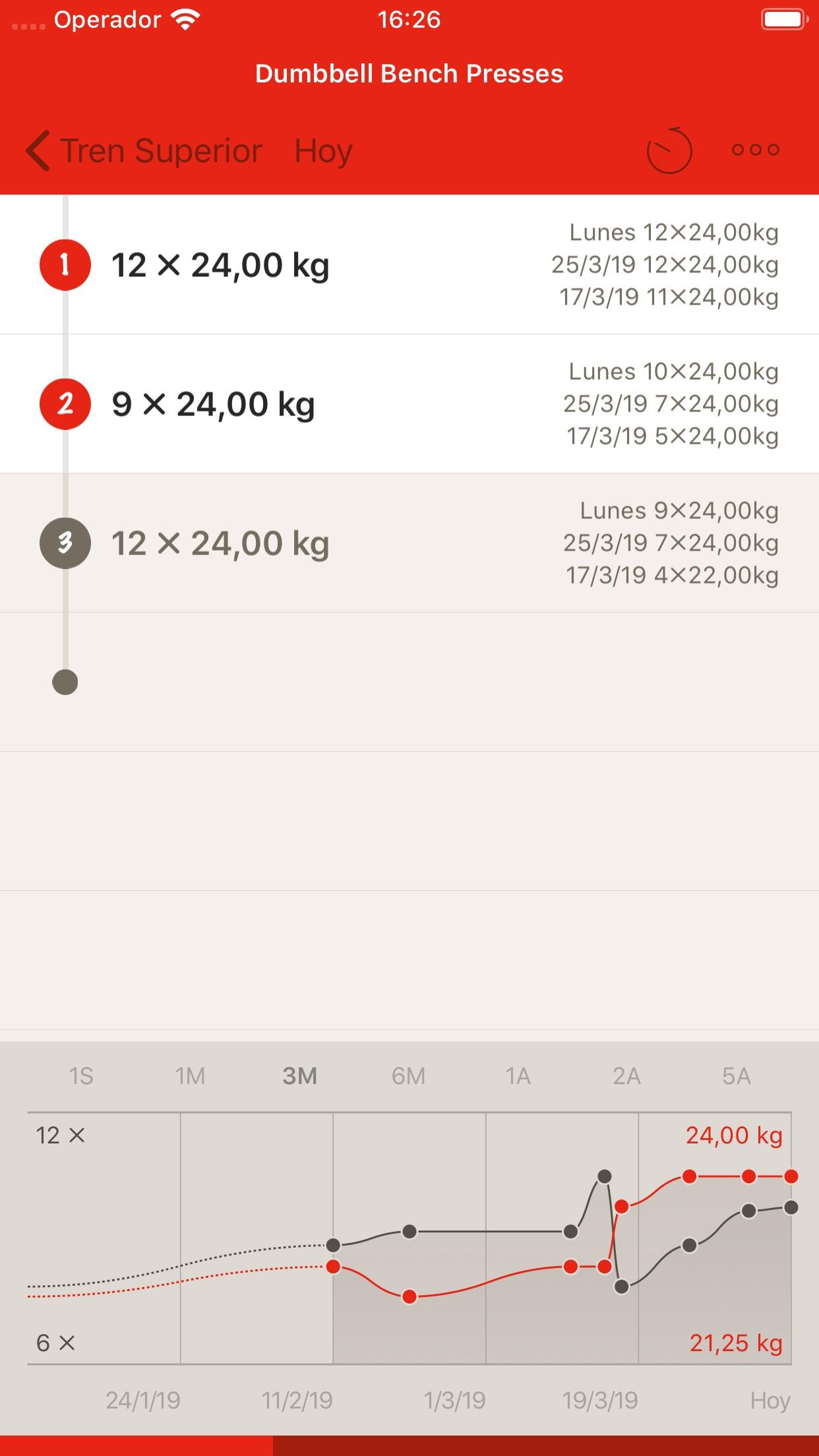 GymBook - Strength training Screenshot