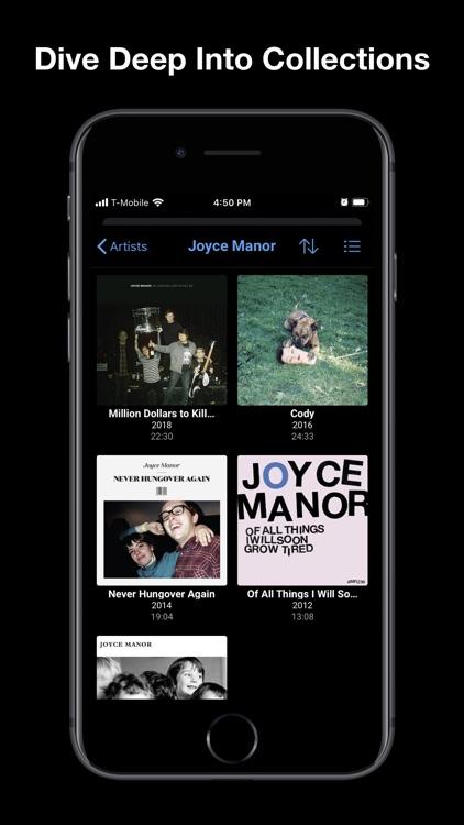 Albums - album focused player screenshot-5