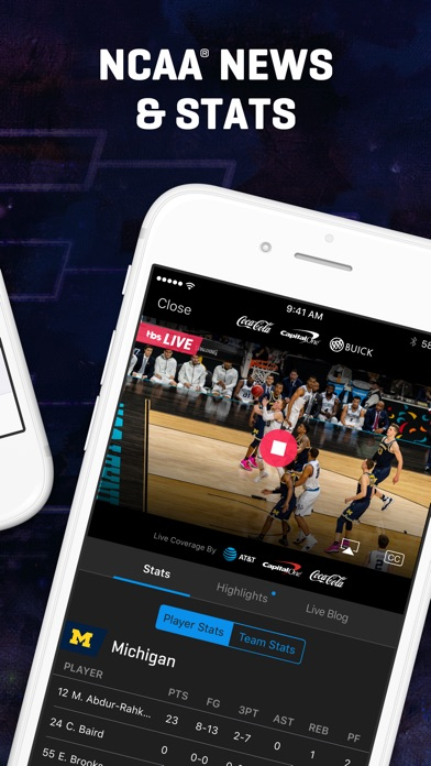 NCAA March Madness Live app image