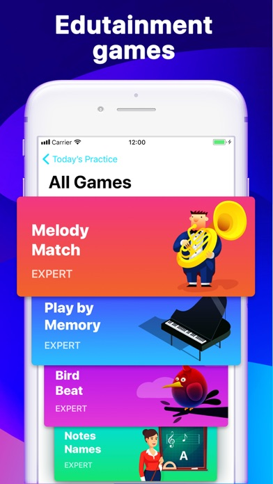 Hello Piano - Lessons & Games screenshot two