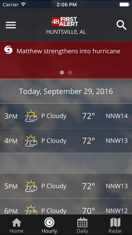 WAFF 48 Storm Team Weather screenshot-3
