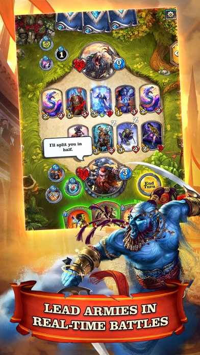 Mighty Heroes CCG screenshot 1
