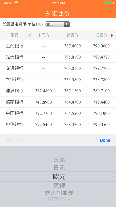 Renminbi Currency Converter screenshot four