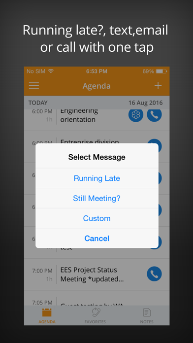 MeetingMogul – One Touch Free Conference Call App screenshot