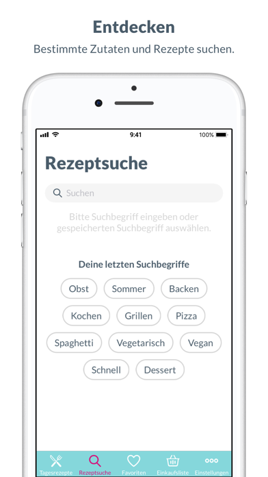 Screenshot for Lecker - Rezepte für jeden Tag in Germany App Store