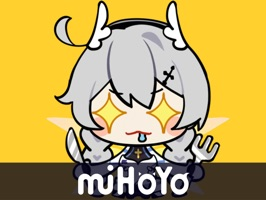 The 1st batch of Honkai Stickers is now available