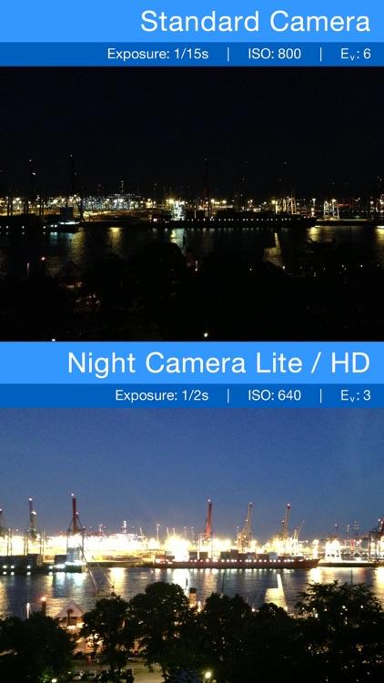 Night Camera: Low light photos screenshot-3