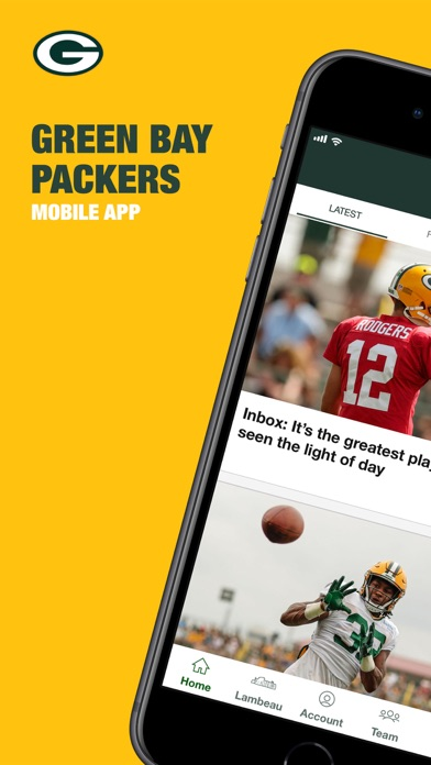 Official Green Bay Packers review screenshots