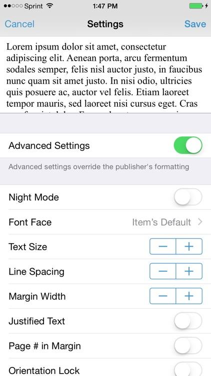 Bluefire Reader screenshot-4