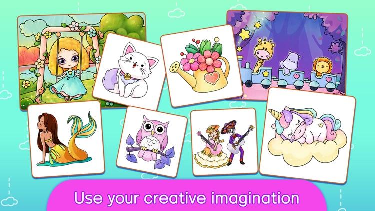 Dream Color Cartoon World screenshot-3