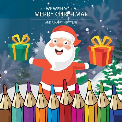 Santa Claus Coloring Books