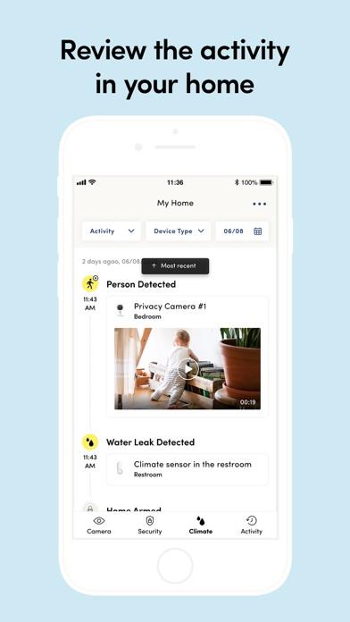 Kangaroo: Simple Home Security Screenshot