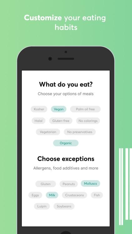 Food scanner