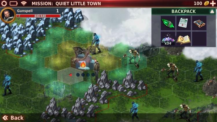 Gunspell 2- RPG Puzzle Match 3 screenshot-4