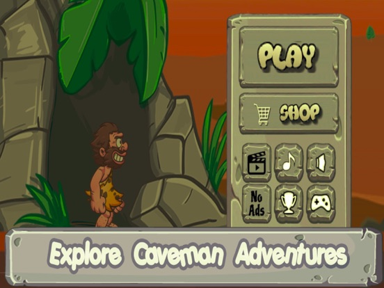 Caveman Catcher Adventures-ipad-0