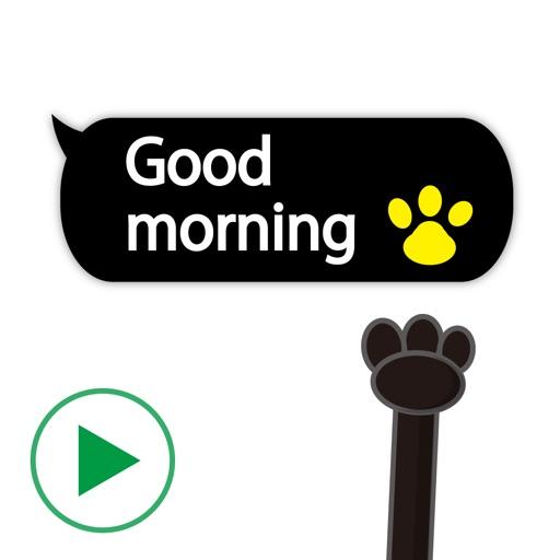 Animal hand 3 Stickers
