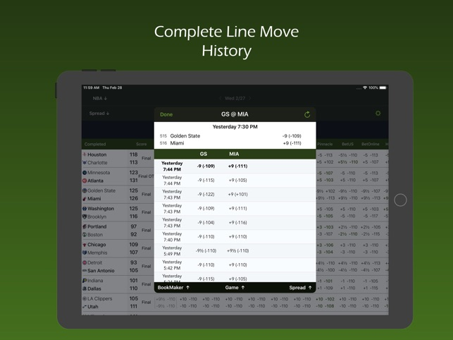 Live Scores and Odds on the App Store