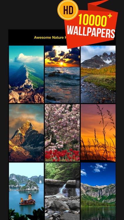 美しい自然のHDの壁紙 screenshot-3
