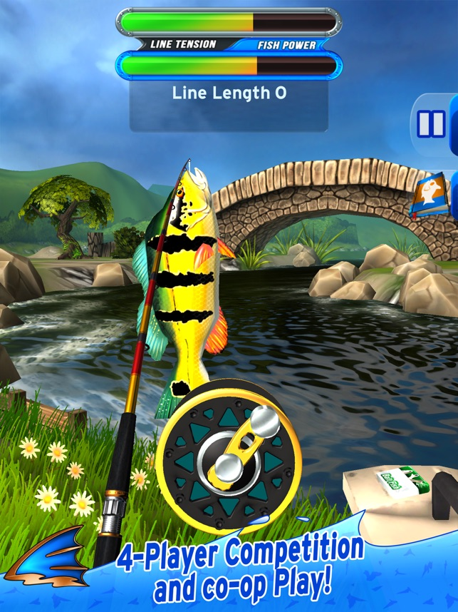 ‎Flick Fishing Screenshot