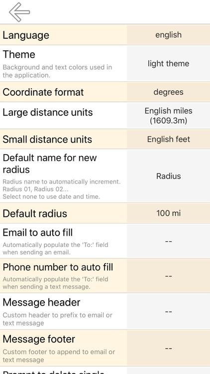 Radius on Map Full Version screenshot-3