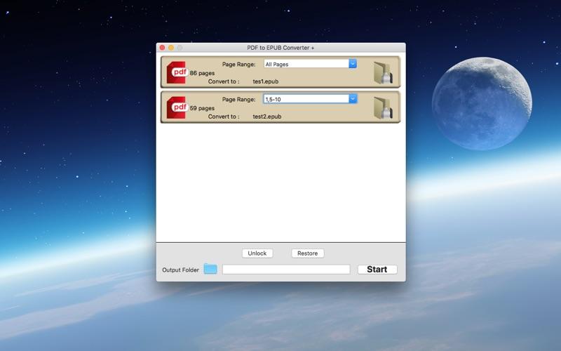 PDF to EPUB Converter +