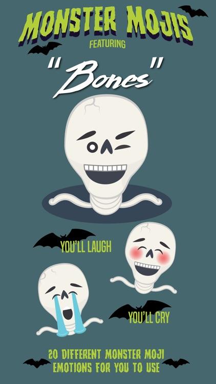 Bones - Monster Mojis Series