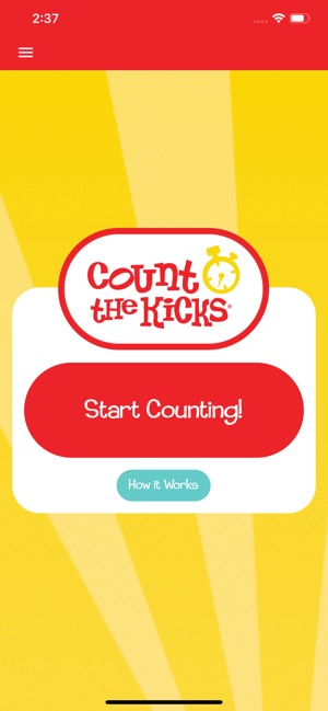 Count the Kicks! on the App Store