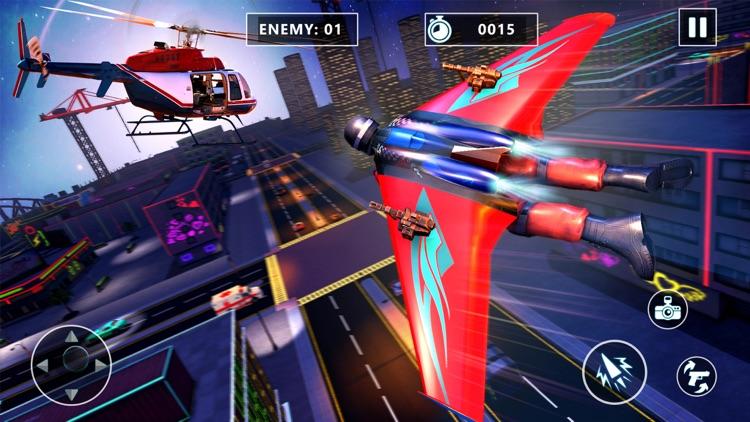 Jetpack City Criminal Fighter