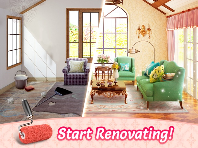 home design story dream life for ios free and decorate my house online  My Home - Design Dreams on the App Store