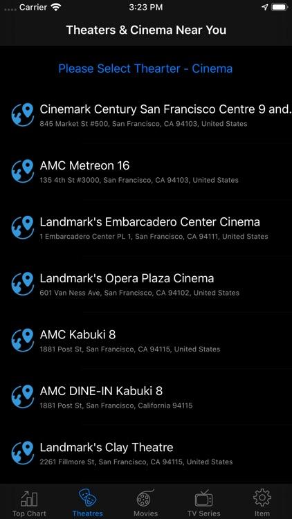 Movie Box & TV Show Listing