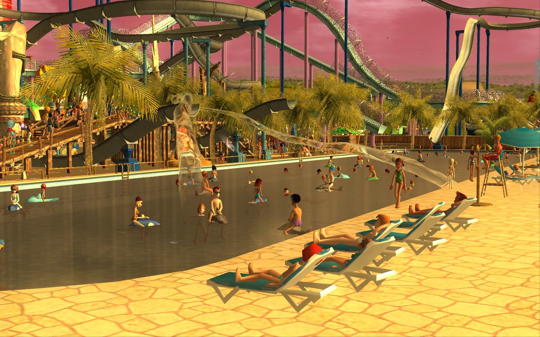 Screenshot do app RollerCoaster Tycoon® 3