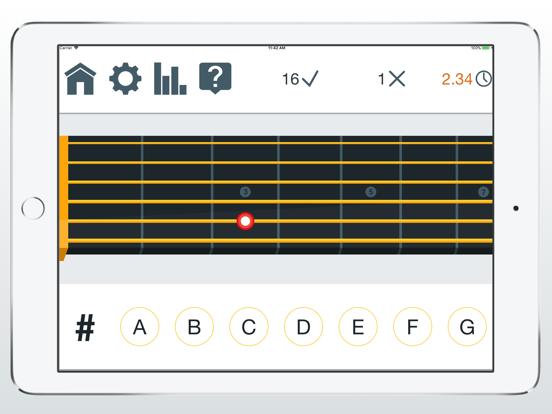 Fret Trainer - Learn Fretboard screenshot