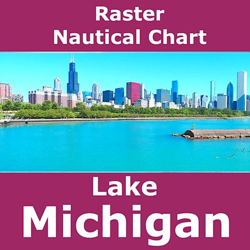 Lake Michigan – Marine Map GPS
