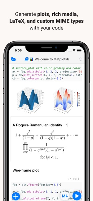 Juno for Jupyter on the App Store