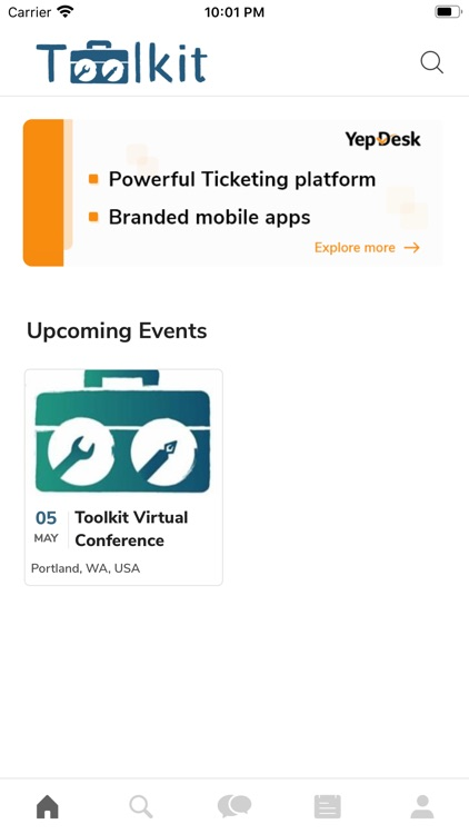 Toolkit Events