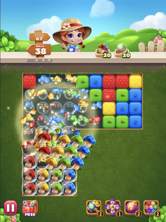 Sweet Garden Blast screenshot 8