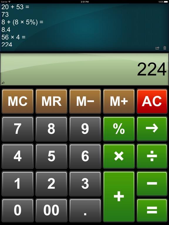 Calculator Easy HD Screenshots