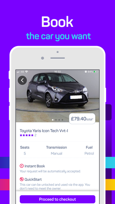 点击获取hiyacar - UK Car Sharing