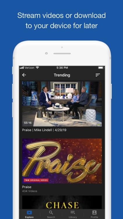 TBN: Watch TV Live & On Demand screenshot-3