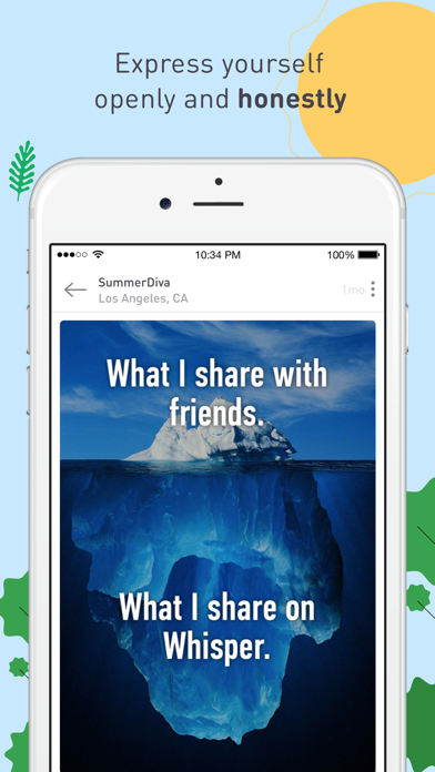 Positive Reviews: Whisper - Share, Express, Meet - by