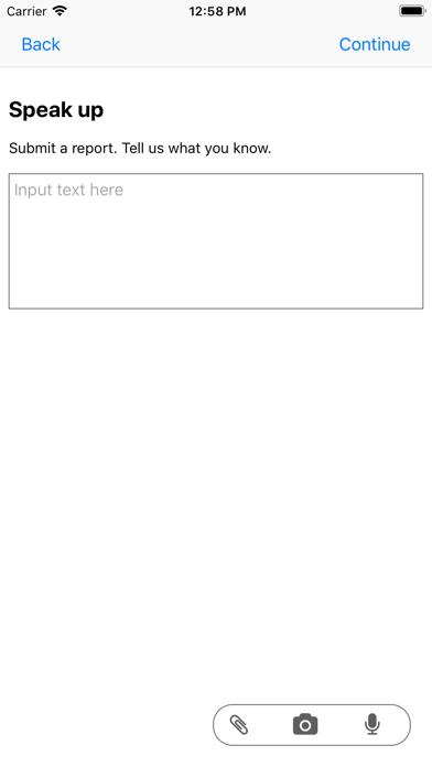 Waypoint GRC Whistleblower App屏幕截图3