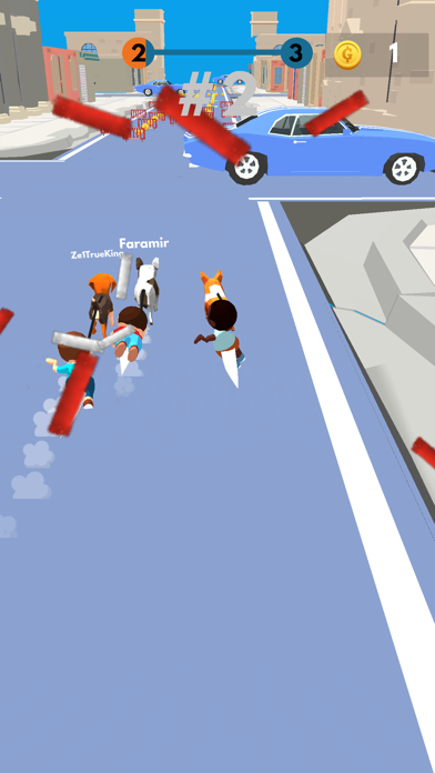Animal Racing.io screenshot 4