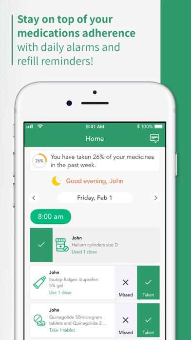 Healthera NHS Prescription App screenshot three