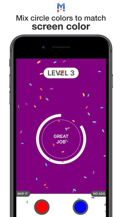 Mix Colors Circle Game screenshot 1
