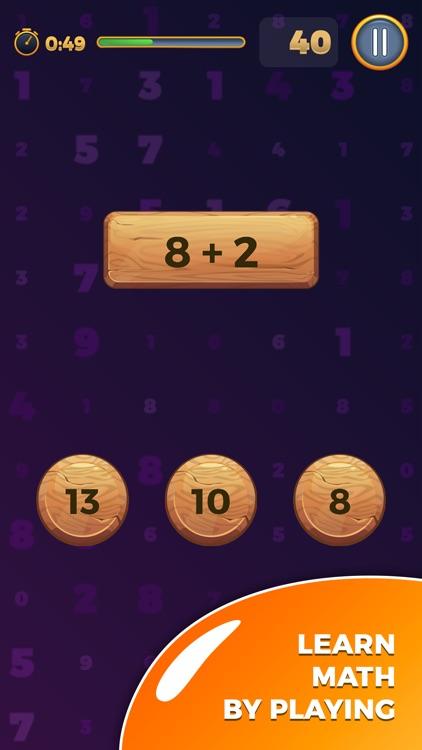 Mathematical Run (Math games) screenshot-0