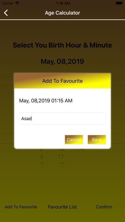Ages Calculator screenshot-3